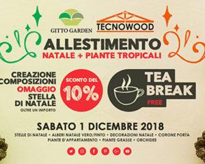 Benvenuto Dicembre! Gitto Garden & Tecnowood