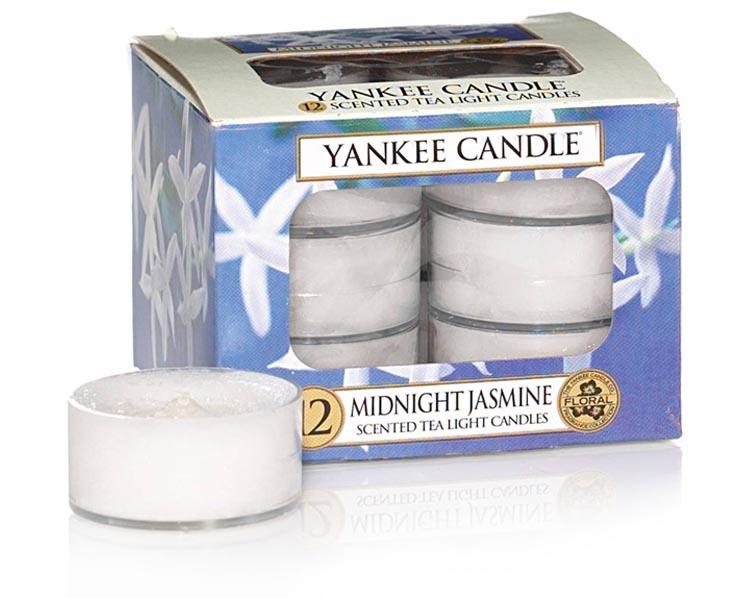 CANDELE TEA LIGHTS MIDNIGHT JASMINE CLASSIC
