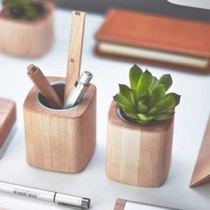 wood office plant stand succulents plant pot.jpg 350x350