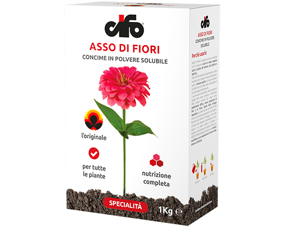 CONCIME ASSO DI FIORI 1KG CIFO
