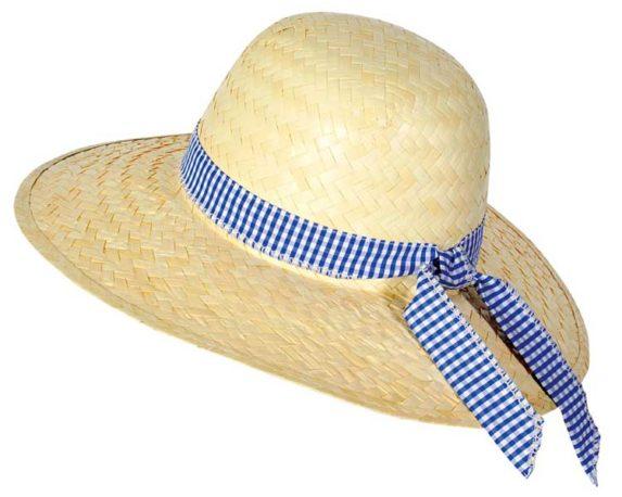 Cappello Classico Per Donna In Paglia