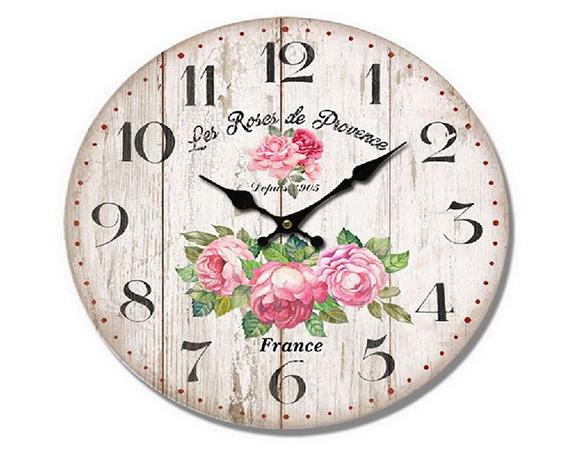 Orologio Les Roses Des Provence Mdf