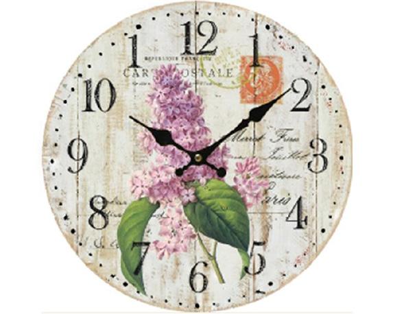 Orologio Lilla Classico Mdf