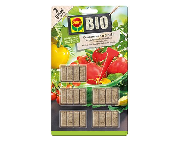 Concime Bio In Bastoncini Compo