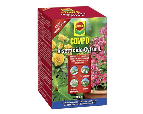 Insetticida Idrosolubile Cythrin 100ml Compo