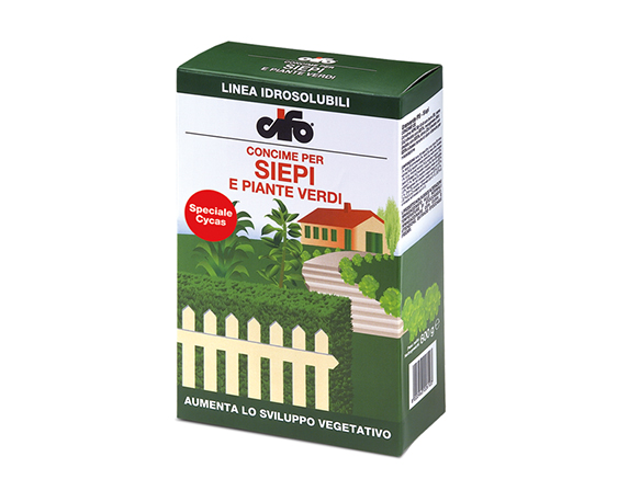 Concime Granulare Per Siepi E Piante Verdi 600g Cifo