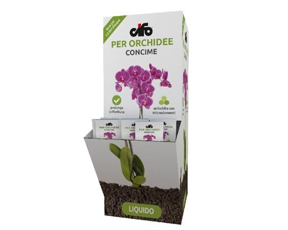 Bustina Concime Liquido Orchidee 2,5ml Cifo