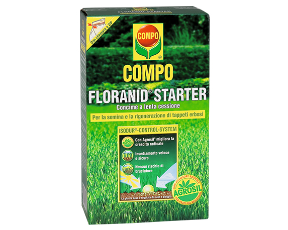 Concime Prato Floranid Starter 1,25kg Compo