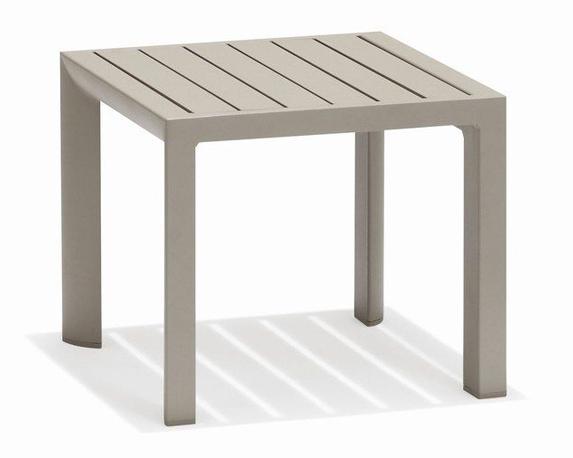 Tavolino New Sunny Taupe Alluminio