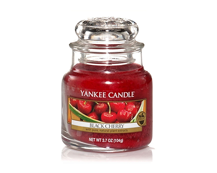 YANKEE CANDLE Small Jar Black Cherry DEFAULT 1