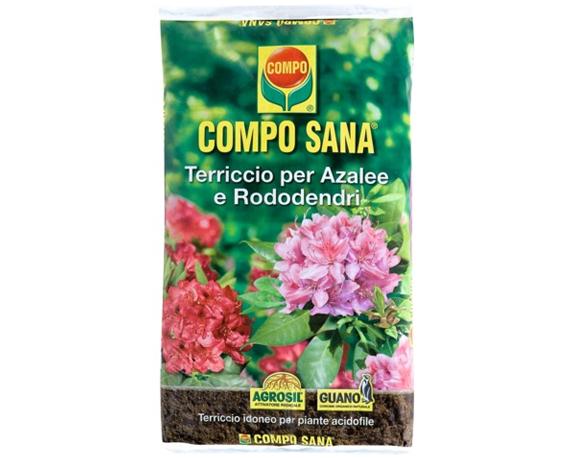 Terriccio Azalee Rododendri 20lt – Compo