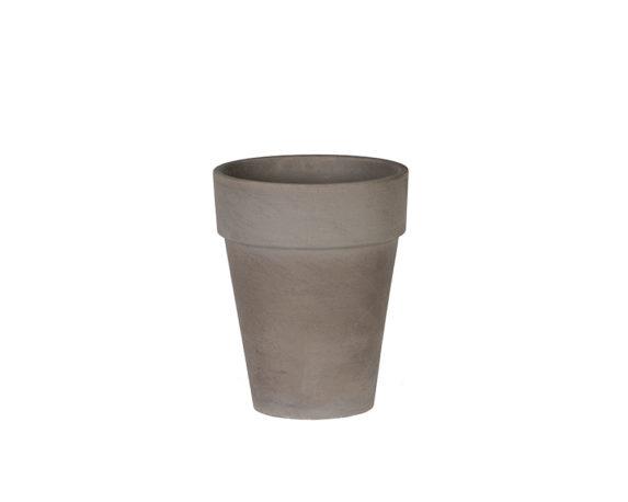 Flowerpot Xl D17cm Basalto