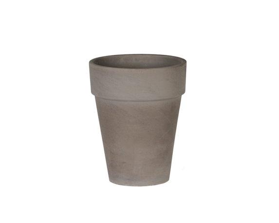 Flowerpot Xl D26cm Basalto