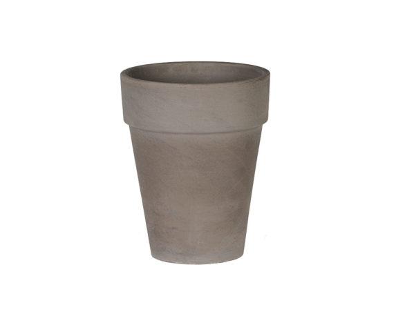 Flowerpot Xl D31cm Basalto