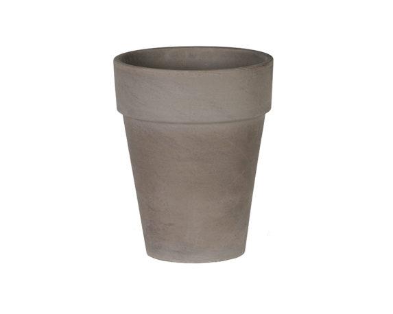 Flowerpot Xl D39cm Basalto