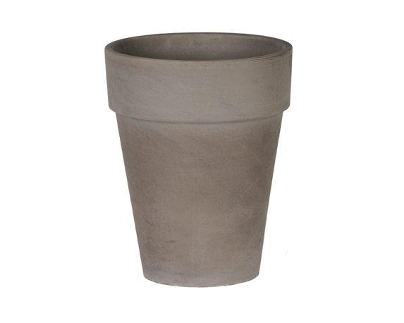 Flowerpot Xl D51cm Basalto