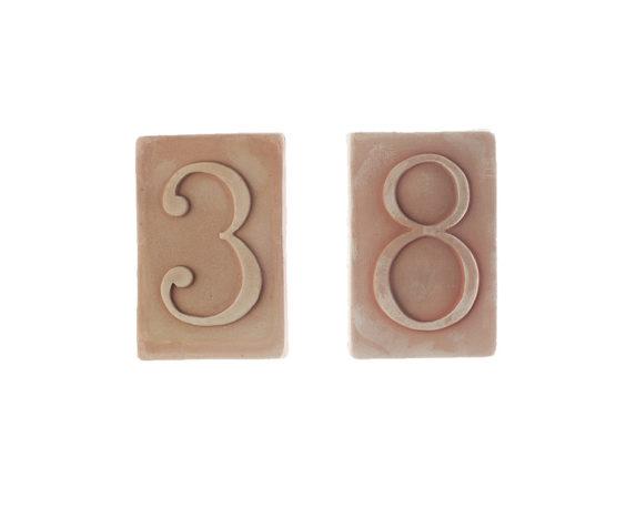 Numeri Civici Terracotta