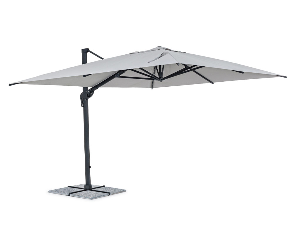 ombrellone a braccio ines arredo giaridno relax ombrellone bizzotto alluminio poliestere 8 1