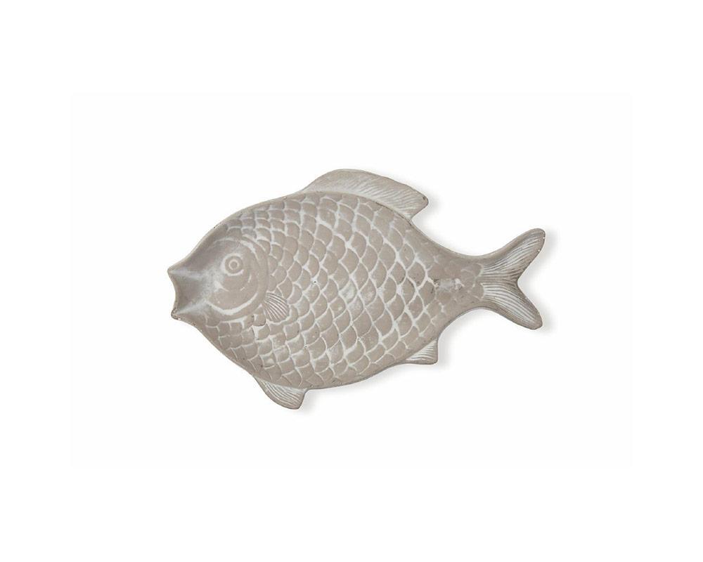 piatto pesci 31 cm decorativa in terracotta c rilievi decorazioni grigio villa deste galileo 1.jpg1  1
