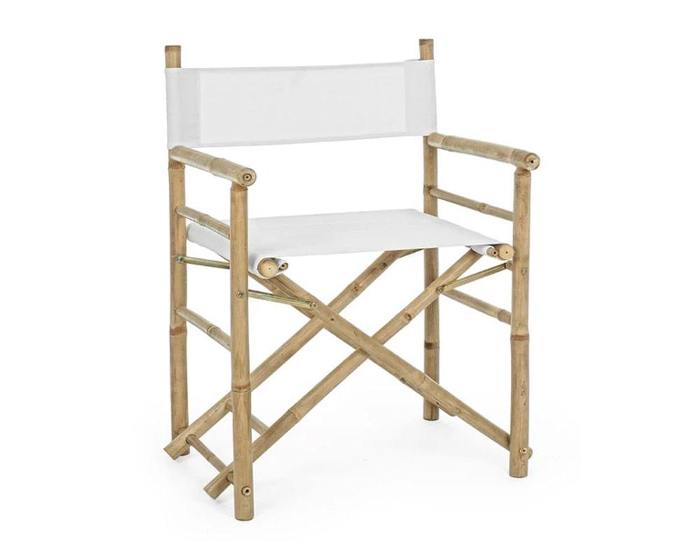 sedia regista joyce bamboo bizzotto complementi relax arredo giardino 1 1