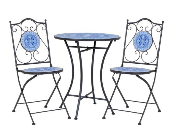 Set Bistrot Bisanzio D60 Acciaio/ceramica