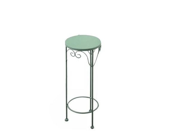 Colonnina Metallo Verde Tondo Small