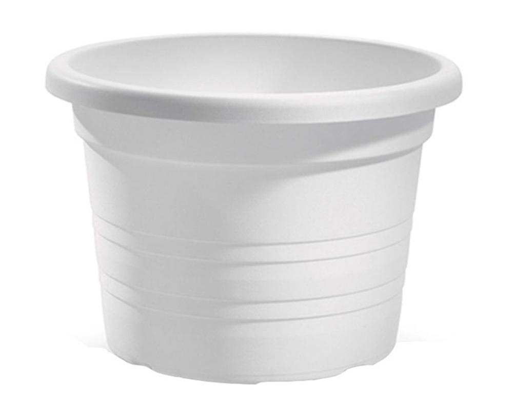 vaso cilindro 50 cm veca vasi e coprivaso giardino plastica