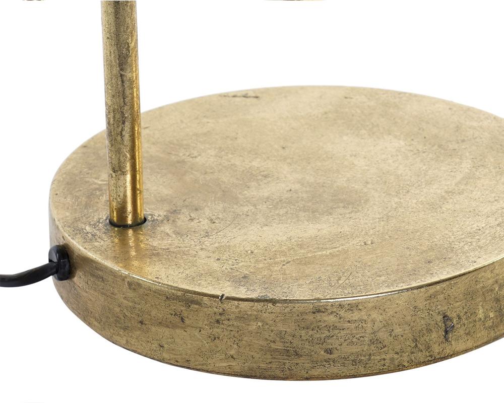 LAMPADA DA TAVOLO METALLO 31X22X61 DORATO item international LA 165566