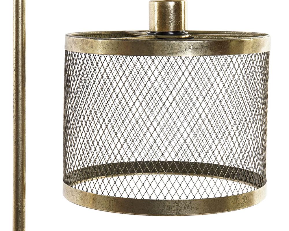 LAMPADA DA TAVOLO METALLO 31X22X61 DORATO item international LA 165566 1