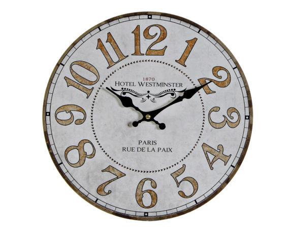 Orologio Parete Vintage Legno