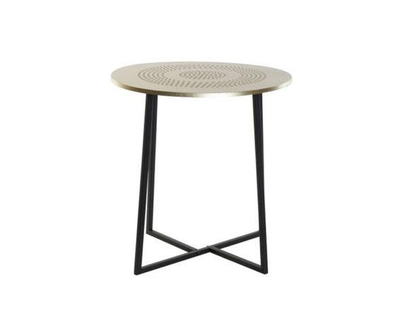 Tavolino Large Metallo Dorato