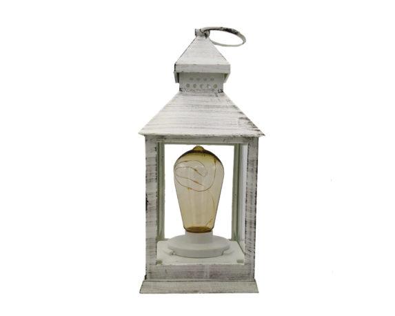 Lanterna Decapata C/lampadina Bianco