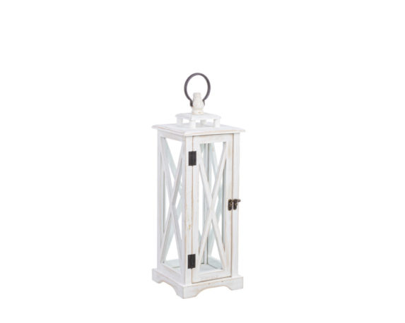 Lanterna Baita Slim Small Bianco