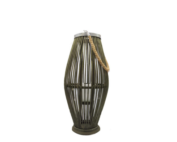 Lanterna Bamboo Medium Verde