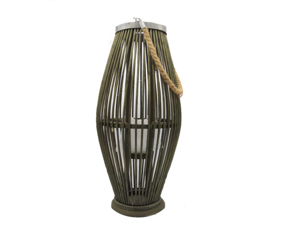 Lanterna Bamboo Large Verde