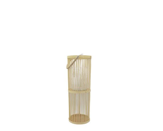 Lanterna Bamboo Small Beige