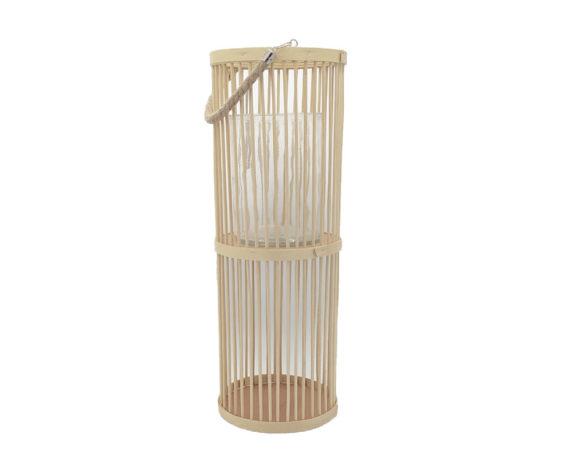 Lanterna Bamboo Large Beige