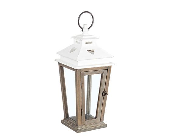 Lanterna Cuore Small Naturale Legno/metallo