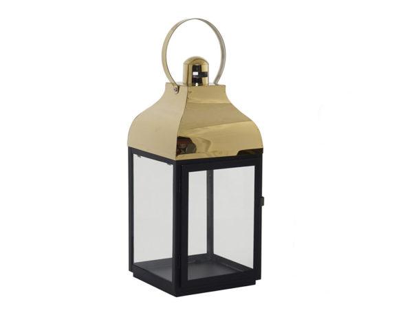 Lanterna Cristallo Large Golder