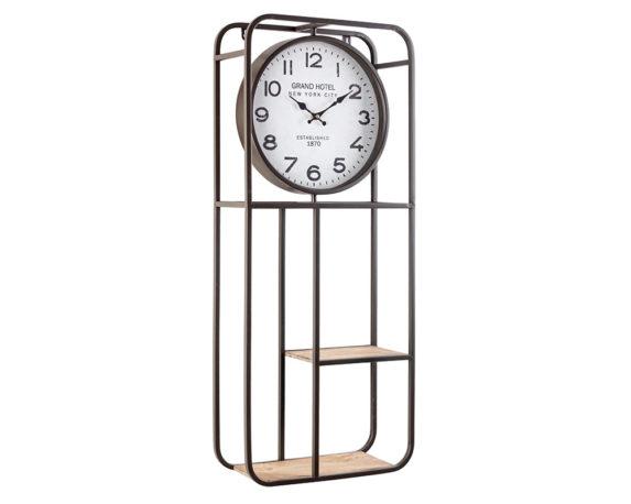 Mensola 2p C-orologio Ticking D35