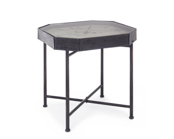 Tavolino C-orologio Mappemonde