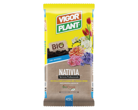Terriccio Biologico Nativia 45lt – Vigorplant