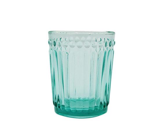 Bicchiere Vetro Turchese
