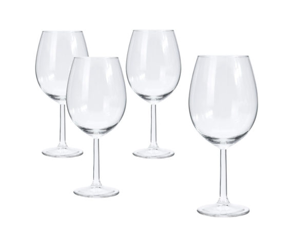 Set 4 Calici Vino Bianco 430 Ml