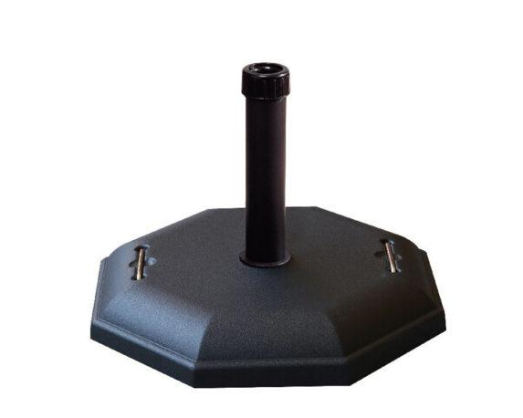 Base Ombrellone Cemento Esagonale Kg32 C-maniglie