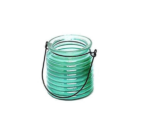 Citronella In Vaso Lanternina Vetro