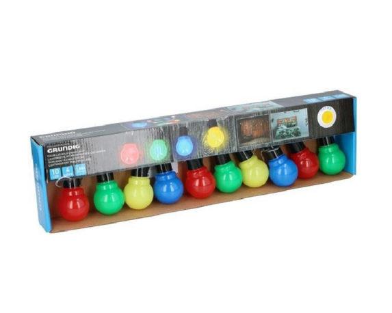 10 Lampadine Led A Batteria Luce Colorata