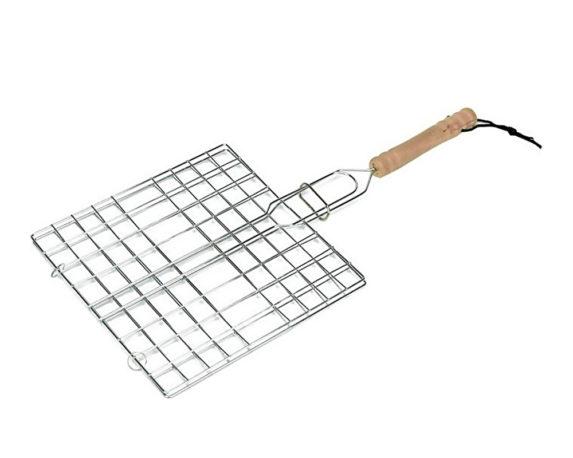 Griglia Quadrata Bbq 20×20 Acciaio Inox