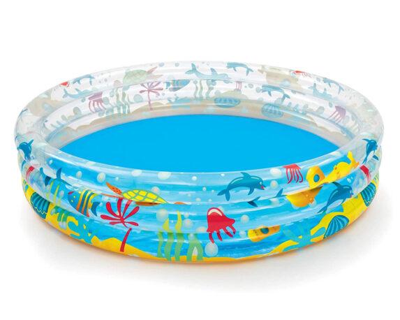 Piscina Tonda Per Bambini Deep Dive Gonfiabile