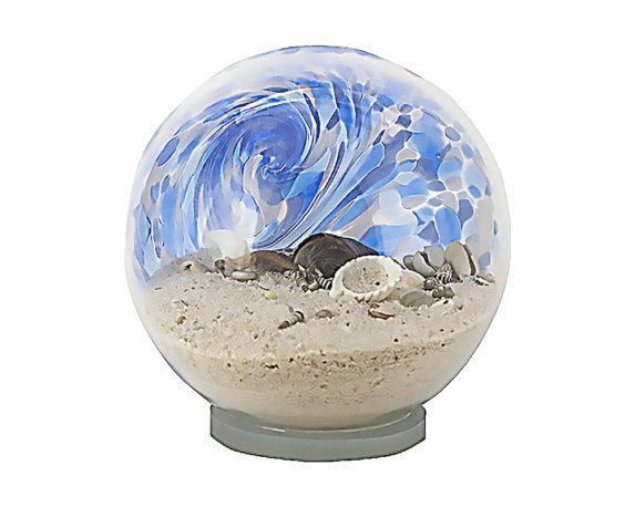 Glassball Marina D20 Celeste Vetro